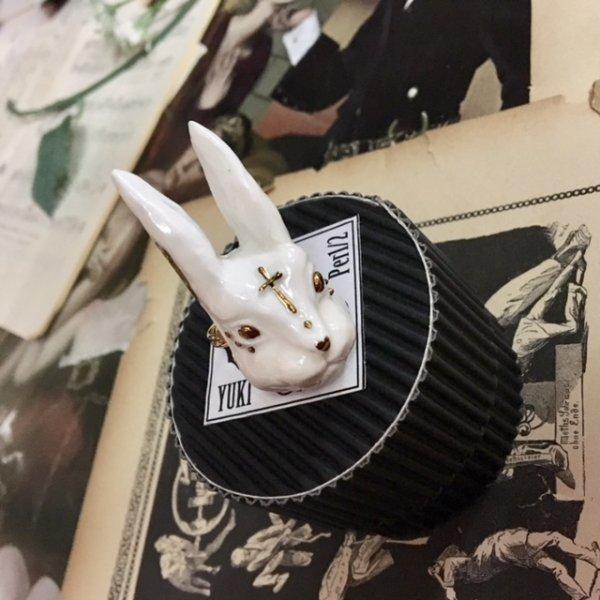 画像1: 【高橋邑木 Yuki-Per 1/2】/アニマルリング ウサギ (1)