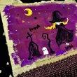 画像4: 【夜の街燈 Street Lamp at Night】・原画「Coffin Witch」ダンボールアート (4)